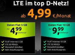Crash: Monatlich kündbare Datenflat im Vodafone-Netz für 4,99 Euro