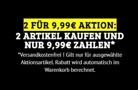 Dealclub: Zwei Elektroartikel nach Wahl für 9,99 Euro frei Haus