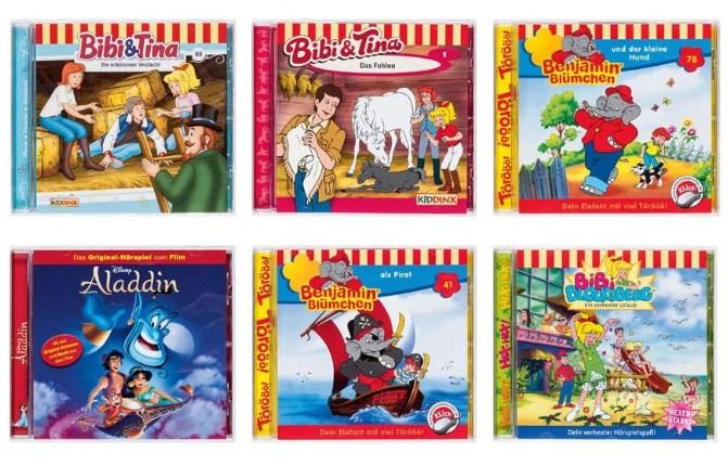 Lidl: Kinder-CDs und Pop-Alben für je 2,99 Euro