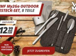 WMF: Outdoor-Reisebesteck für 12,99 Euro via Druckerzubehoer.de
