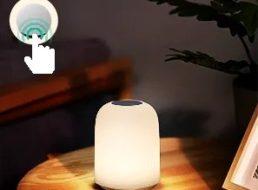 Aukey: Nachttischlampe mit RGB für 15 Euro