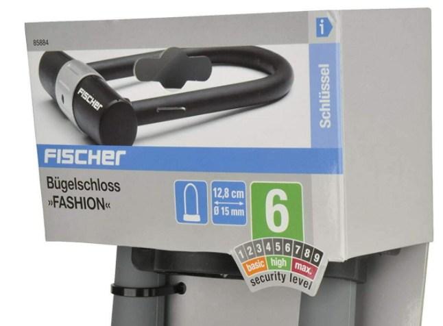 Ebay: Fischer-Bügelschloss für 12,99 Euro frei Haus
