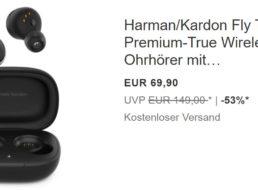 """Ebay: In-Ear-Kopfhörer """"Harman/Kardon Fly TWS"""" für 69,90 Euro"""