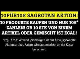 Dealclub: Zehn Sagrotan-Artikel nach Wahl für 13,90 Euro frei Haus
