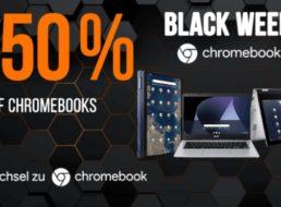 NBB: Vier Chromebooks zu Preisen ab 148,48 Euro