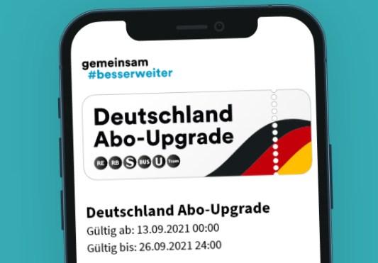 """Knaller: Zwei Wochen Gratis-Nahverkehr mit """"Deutschland Abo Upgrade"""""""