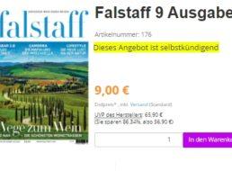 Falstaff: 9 Ausgaben für 9 Euro mit automatischem Ende