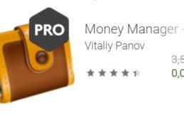 """Gratis: App """"Money Manager Pro"""" für 0 statt 3,59 Euro"""