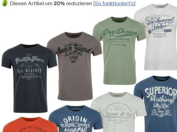 Ebay: Riverso-Shirts ab 8,76 Euro frei Haus