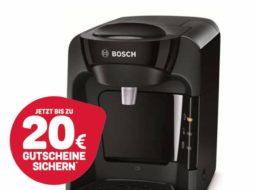Ebay: Bosch Tassimo Suny für 32 Euro mit Gutschein über 20 Euro