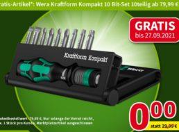 Völkner: Gratis-Bit-Set im Wert von 20 Euro ab 80 Euro Warenwert