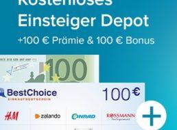 Knaller: 200 Euro zum Gratis-Depot der Consorsbank geschenkt