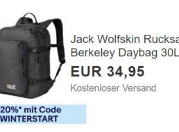 Jack Wolfskin: Rucksack Berkeley Daybag für 27,96 Euro frei Haus