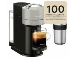 """Ebay: """"Krups XN910B Nespresso"""" mit 100 Kapseln und Becher für 41,93 Euro"""