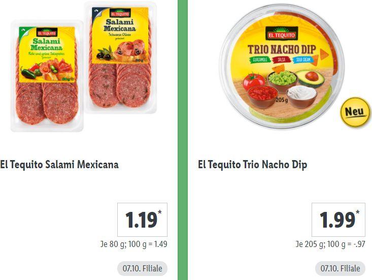 Lidl: Mexiko-Spezial mit Wraps, Burritos und mehr
