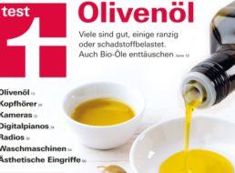 Olivenöl-Test: dm & Lidl gut, Alnatura mangelhaft