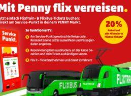 Penny: Flixbus-Tickets mit 20 Prozent Rabatt