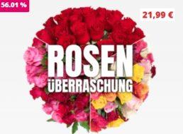 Blumeideal: 50 Überraschungsrosen für 27,98 Euro mit Versand