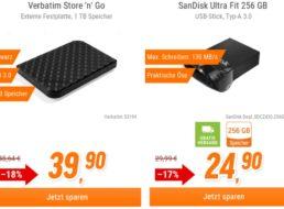 NBB: SanDisk Ultra Fit mit 256 GByte für 24,90 Euro frei Haus
