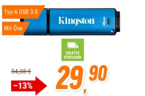 NBB: USB-Stick mit Verschlüsselung und Passwortschutz für 29,90 Euro
