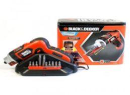 Ebay: Black & Decker Akkuschrauber AS36LN für 24,99 Euro frei Haus