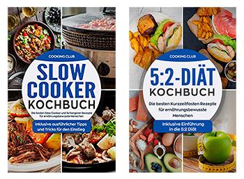 Amazon: zwei Koch-eBooks vom Cooking Club komplett gratis