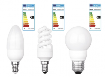 Lidl: Energiesparlampen und LED-Birnen im Angebot (Bild: Lidl.de)