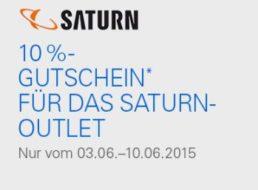 Saturn: 10 Prozent Rabatt auf alle Artikel bei Ebay
