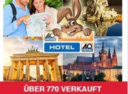 A&O-Hotels: 17,25 Euro pro Nacht inklusive Frühstück & WLAN