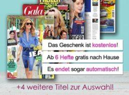 Gratis: Automatisch endende Kurzabos zum Jahresabo ab 9,90 Euro geschenkt