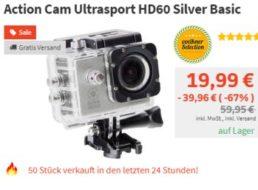 Völkner: Full-HD-Actioncam für 19,99 Euro frei Haus