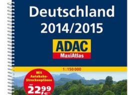 Exklusiv: ADAC Maxiatlas 2014/2015 für 9,99 Euro frei Haus
