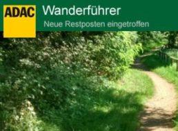 Terrashop: ADAC-Wanderführer für 4,99 Euro frei Haus