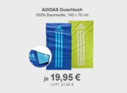 Allyouneed: Adidas-Duschtuch für 19,95 Euro frei Haus