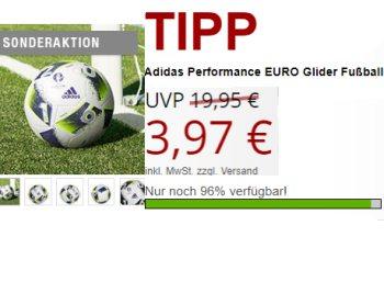 Druckerzubehoer.de: Adidas-Fußball für 9,94 Euro mit Versand