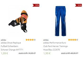 Adidas: Sale bei Outlet46 mit knapp 500 Artikeln ab 1,99 Euro