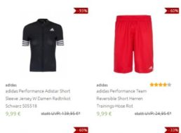 Adidas: Sale bei Outlet46 mit über 300 Artikeln ab 9,99 Euro