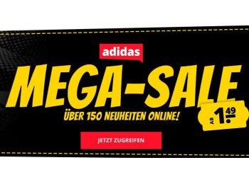 Sportspar: Adidas-Sale mit Artikeln ab 99 Cent plus Versand