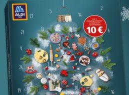 Aldi: Adventskalender 2019 mit Gutscheinen über 10 Euro für 12,95 Euro