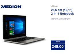 Aldi-Netbook: Medion Akoya E1240T im Norden für 249 Euro