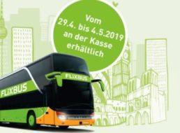 Aldi: Flixbus-Tickets für 9,99 Euro in der kommenden Woche