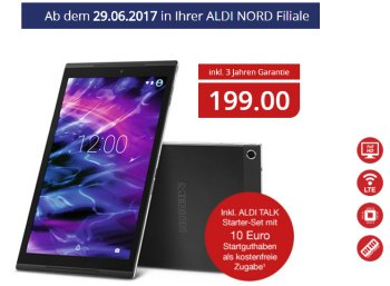 Aldi-Tablet: Medion Lifetab X10302 mit LTE für 199 Euro (Bild: Aldi-Nord.de)
