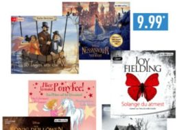 Aldi-Nord: Hörbuch-Spezial mit 15 verschiedenen Titeln für je 9,99 Euro