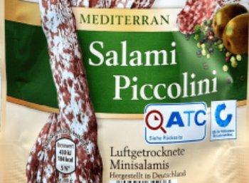 Warnung: Salmonellen in Aldis Salami Piccolini gefunden