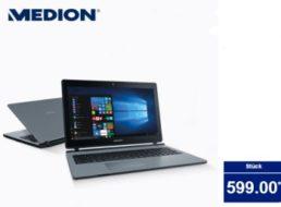 Aldi-Notebook: Medion Akoya P6670 nun auch im Süden für 599 Euro