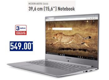 Aldi-Notebook: Medion Akoya S6446 mit IPS-Display und Core i5