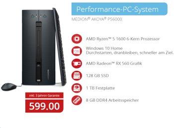 Aldi-PC: Medion Akoya P56000 bei Aldi-Nord für 599 Euro