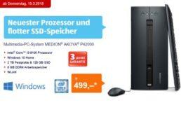 Aldi-PC: Medion Akoya P42000 für 499 Euro deutschlandweit