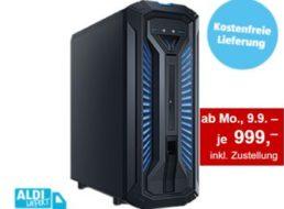 Aldi-Süd: Gamer-PC und 17-Zoll-Notebook ab 9. September
