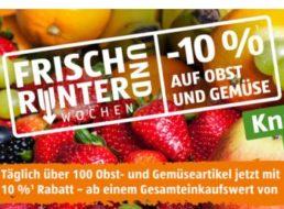 Aldi-Süd: 10 Prozent Rabatt auf Obst und Gemüse – mit Ausnahmen